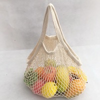 Reusable mesh vegetable bags